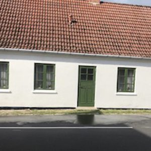 Fræsning, pudsning og kalkning af ældre hus